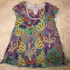 Matilda Jane Paisley Girls Dress, Size 6